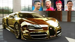 top 10 football players super cars 2018
