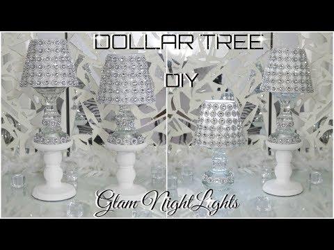 DIY DOLLAR TREE | GLAM NIGHTLIGHTS DECOR | DIY HOME DECOR IDEAS 2018 | PETALISBLESS