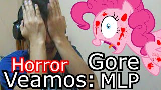 Repeat youtube video Veamos Horror MLP Gore: Smile HD y Cupcakes