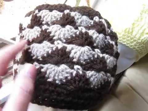 Crocheted Catherine Wheel Hat, Tezzie Hat