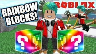 Lucky Blocks Epic sat in Roblox Epic Battles Karim Games Play Roblox