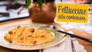 Fettuccine Alla Carbonara - O Chef E Chata