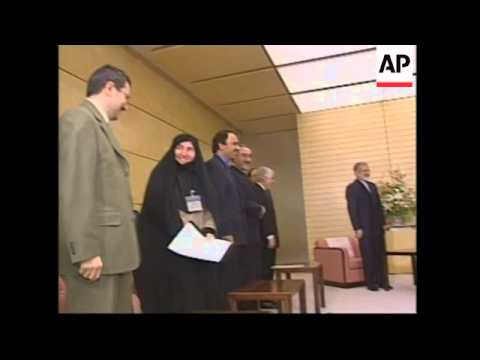 Japanese PM meets Iranian FM