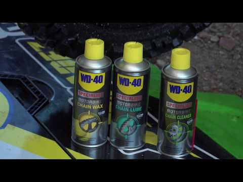 How to Use WD-40 Specialist Chain Cleaner on an Off Road Bike