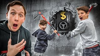 SUBSCRIBERS are trying to find MONEY in CONCRETE! Challenge