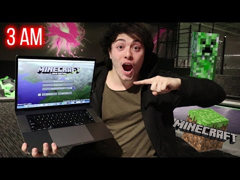 DO NOT PLAY MINECRAFT AT 3AM!! (CREEPER IN REAL LIFE)
