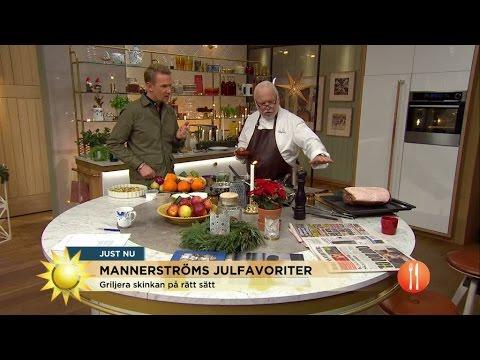 Leif Mannerstrms klassiska julmat - Nyhetsmorgon (TV4)