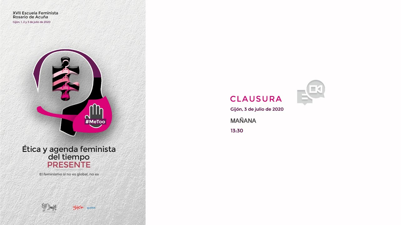 Clausura de la XVII Escuela Feminista Rosario de Acuña
