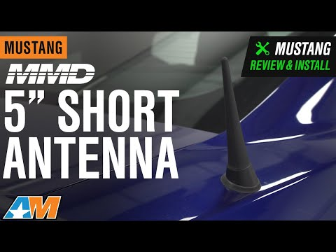 2010-2014 Mustang MMD 5 In. Short Antenna Review & Install