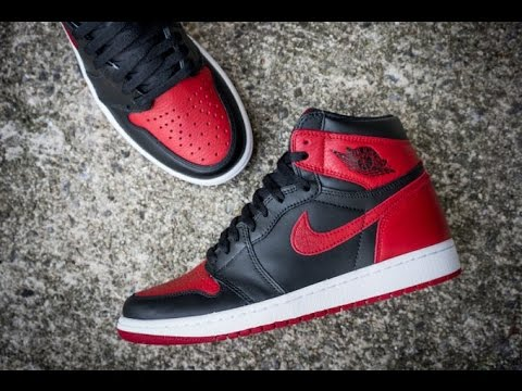 0f8253b54018c9 Air Jordan Banned 1 unboxing   On Feet Review GS size - YouTube