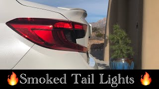2018 Honda Accord - Smoked Tail Lights / Crux Motorsports Lens Kit