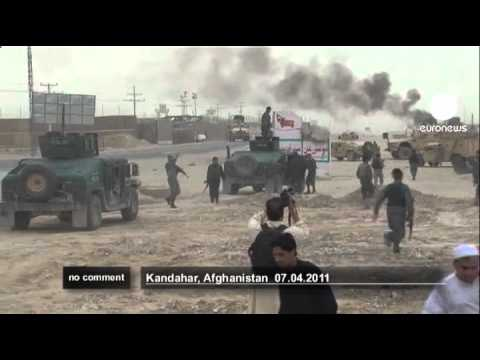 Download Taliban attack Kandahar police in Afghanistan - no comment
