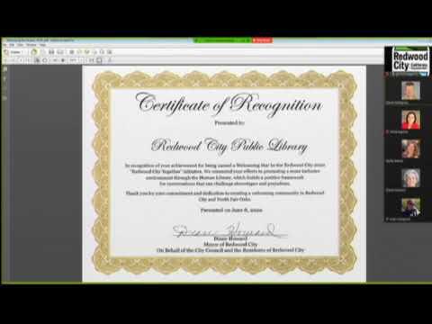 Redwood City - City Council 06.08.20