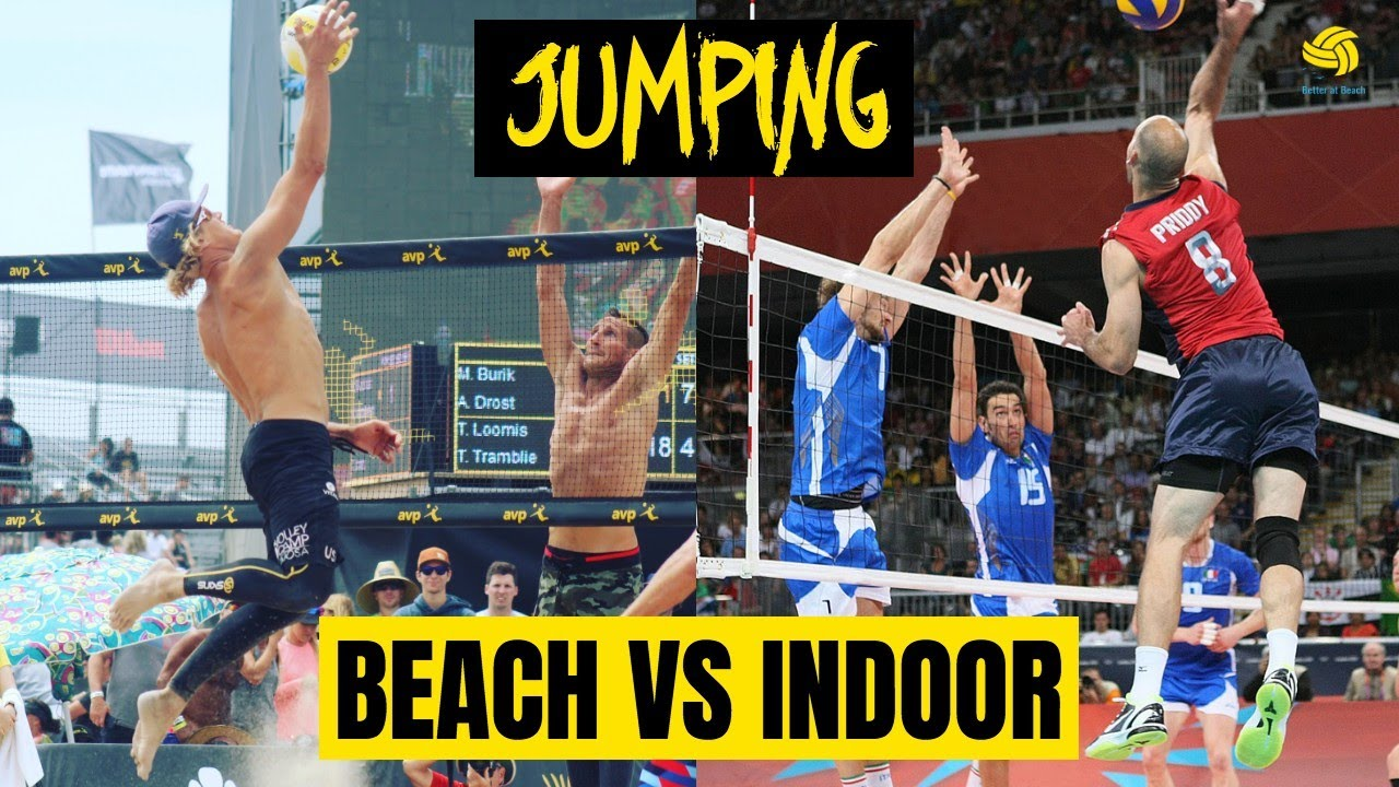 VolleyChat! Ask a Pro | Indoor vs Outdoor Volleyball for Attacking | How to Jump Higher in the Sand
