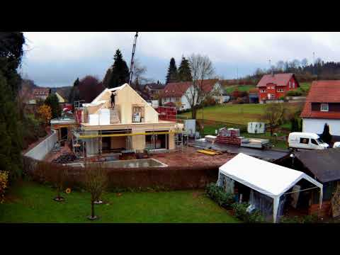 Herrmann Massivholzhaus ein herrmann massivholzhaus entsteht