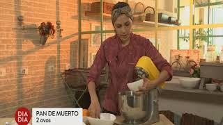 Band   Dia Dia 03 01 2018   Chef Fernanda Luvezuto prepara o famoso Pan de Muerto