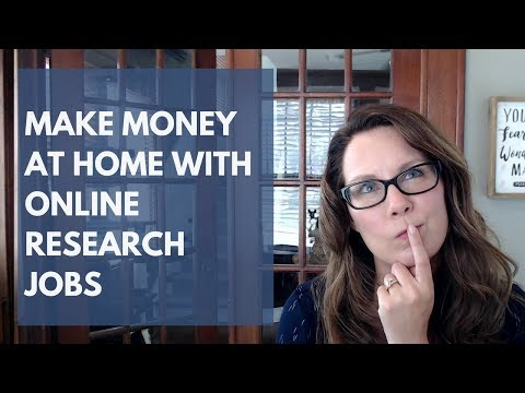 Make money doing research online