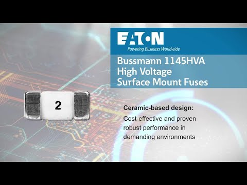High-voltage 1145HVA automotive fuses from Eaton