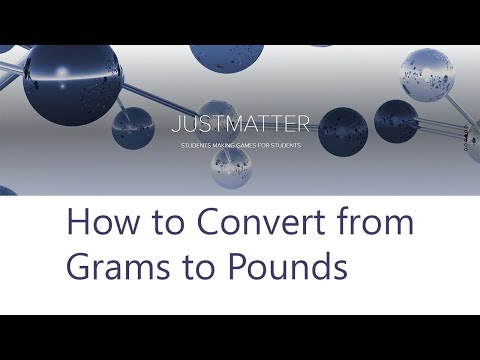 How To Convert From Grams To Pounds