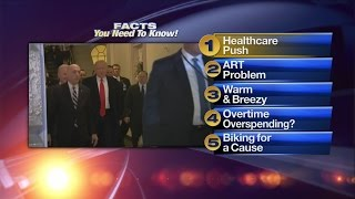Wednesday's Morning Rush Video, 5 Facts: GOP leaders increase pressure as health bill vote nears