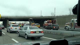 Accident NJ Turnpike 3-15-12
