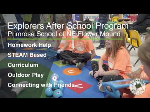 The Explorers Program at Primrose School of NE Flower Mound