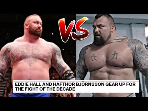 Eddie Hall VS The Mountain BOXING Match!?