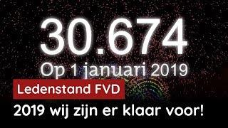 FVD start 2019 met 30.674 leden! Word ook lid!