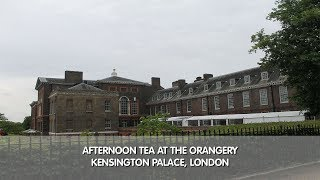 Afternoon Tea at The Orangery - Kensington Palace, London