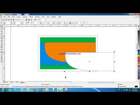 Simple Business Card in CorelDraw   Visiting card design in CorelDraw   CorelDraw Tutorial In Nepali thumbnail