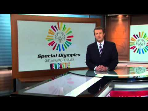 Peter Overton and Special Olympics Asia Pacific Games