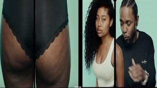 Kendrick Lamar Receives BACKLASH For Praising Women's Natural Bodies in His New 'Humble' Video
