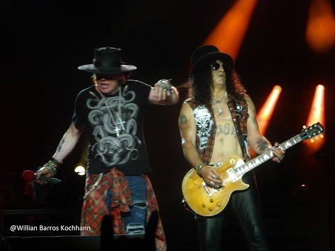 Guns N' Roses - Sweet Child O' Mine - Live Porto Alegre (Brazil)