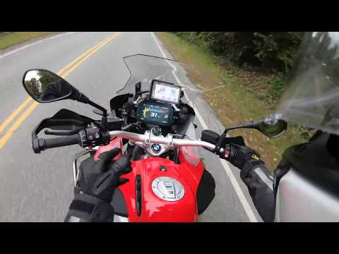 First Ride: 2018 R1200GS Adventure Racing Red with TFT