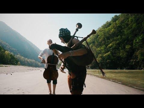 Pirates of the Caribbean Theme Song | Bagpipes & Cello | (He's a Pirate)