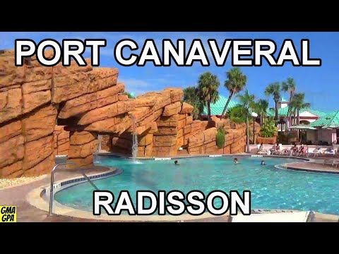 The Radisson Resort At The Port - Hotel & Room Tour - Great Park & Cruise Hotel In Port Canaveral