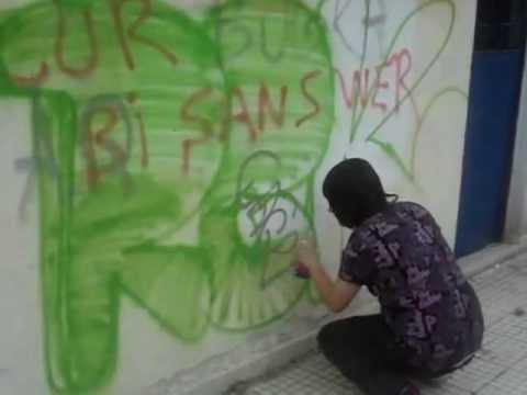 illegal graffiti-Turkey-Ankara-Rek&Scow