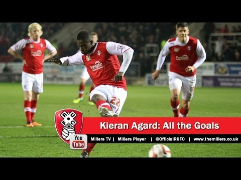Kieran Agard: All the goals from the League One promotion 2013/14
