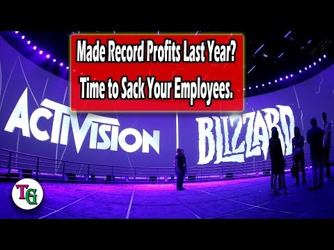 The Price of Everything, and the Value of Nothing - Activision Blizzard Crass Error
