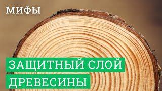 ЛАФЕТОФФ: Сказки про защитный слой древесины в деревянном домостроении