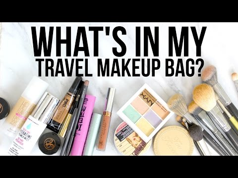 What's in My Travel Makeup Bag? Benefit, NYX, Too Faced, Sigma, Anastasia Beverly Hills & MORE!