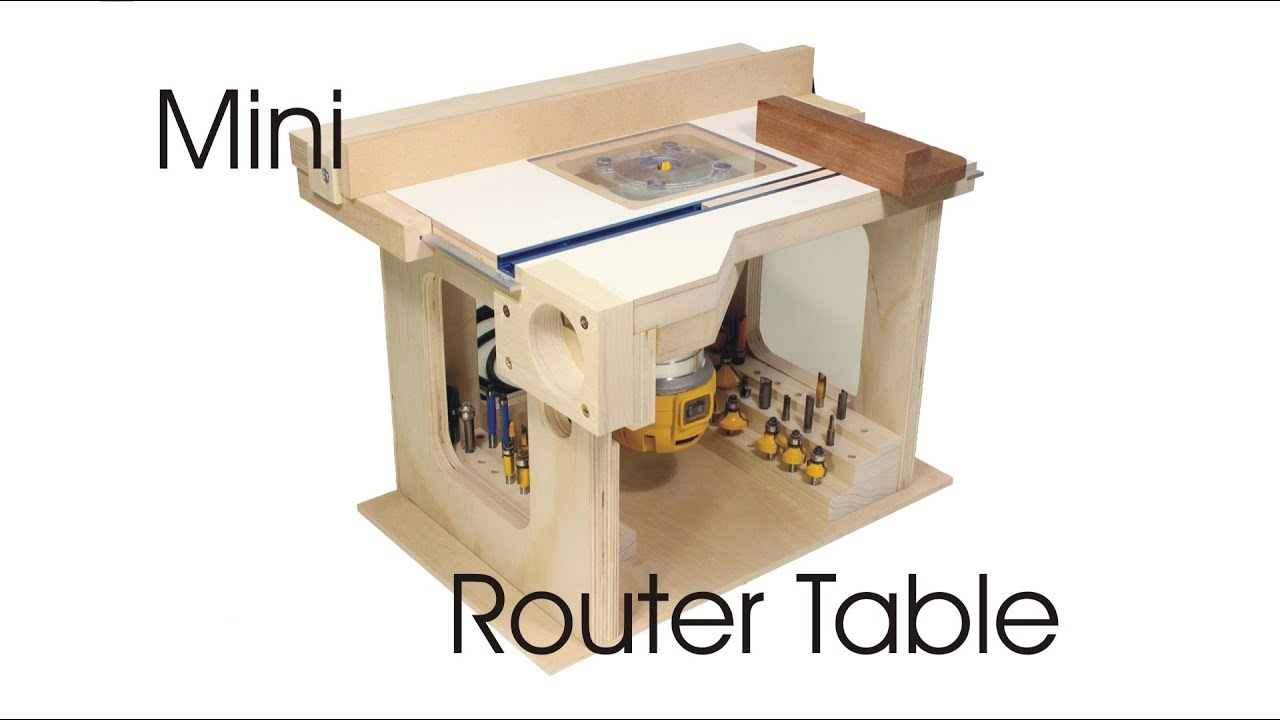 Mini router table youtube mini router table keyboard keysfo