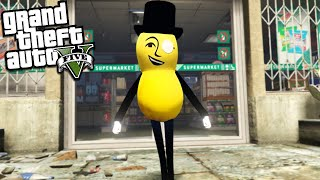 MR PEANUT looks for PEANUTS in LOS SANTOS (GTA 5 Mods)