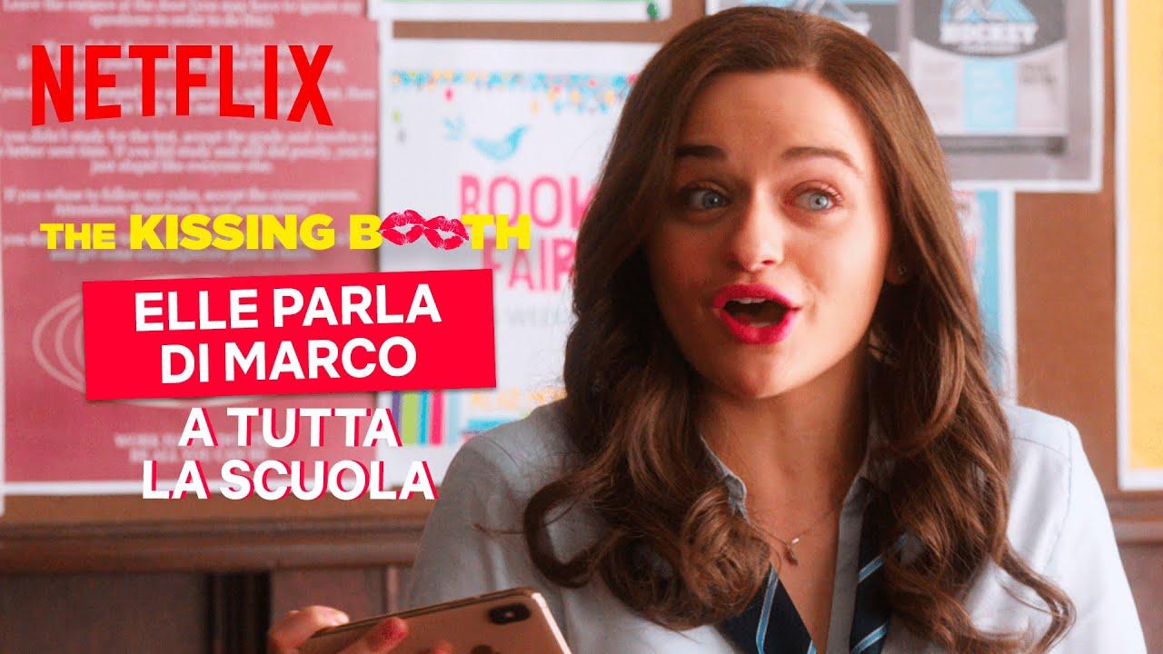 The Kissing Booth 2 | Elle parla di Marco al microfono | Netflix Italia