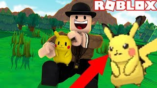 HOW TO CATCH A PIKACHU IN POKEMON BRICK BRONZE ROBLOX 100%! I caught and trained my own Pikachu!