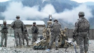 3 155mm Artillery Rounds Fired At Taliban