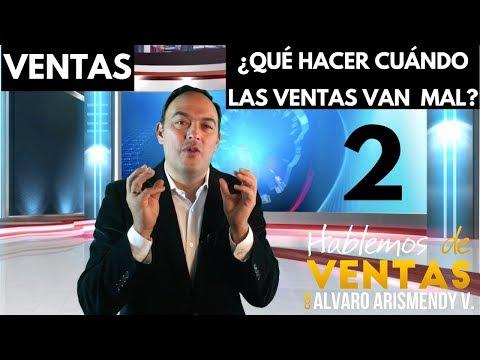 Ventas: ¿Qué Hacer Cuándo Las Ventas Van Mal? Video 2