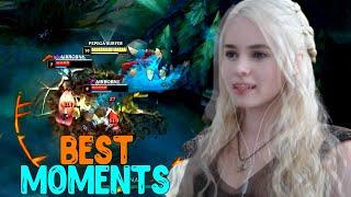 Лучшие Моменты League of Legends BEST MOMENTS KotLettik Дейнерис Бомбящий Выпуск