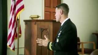 Navy Chaplains -- Chaplain Lt. Jason DiPinto Presentation