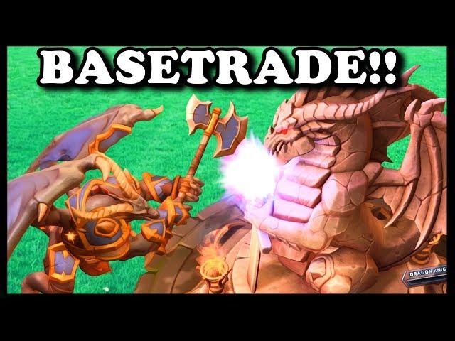 Grubby | HotS | BASE TRADE!!